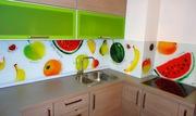 Фартуки для кухни из стекла с рисунком «Скиналли» Современные техноло